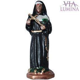 Santa Rita de Cássia - Metal - 05cm
