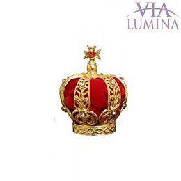 Coroa Folheada p/ Imagem de 43cm