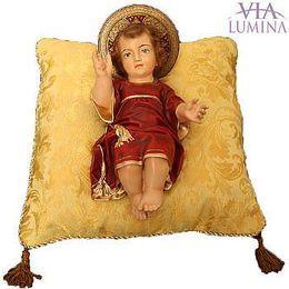 Menino Jesus com Almofada - Resina - 26cm