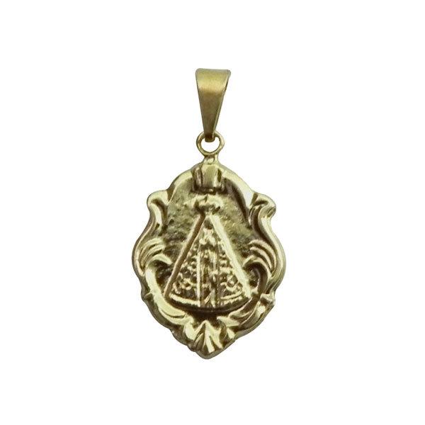 Medalha Nossa Senhora Aparecida - Tipo Ornato - 2,2cm