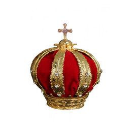 Coroa Folheada de Nossa Senhora Aparecida p/ Imagem de 45cm