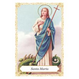 Santa Marta - Pacote c/ 100 Santinhos de Papel