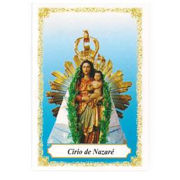 Cirio de Nazaré - Pacote c/ 100 Santinhos de Papel