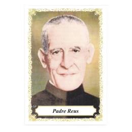 Padre Reus - Pacote c/ 100 Santinhos de Papel