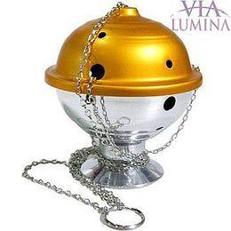 Turíbulo em Alumínio Fosco